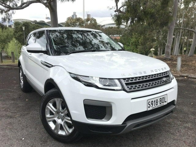 Used Land Rover Range Rover Evoque L538 MY17 Pure Adelaide, 2017 Land Rover Range Rover Evoque L538 MY17 Pure White 9 Speed Sports Automatic Wagon
