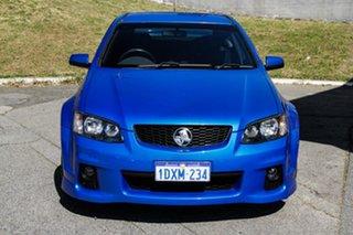 2010 Holden Commodore VE II SV6 Blue 6 Speed Sports Automatic Sedan.