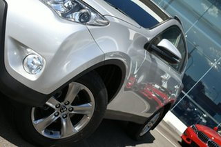 2015 Toyota RAV4 ASA44R MY14 Upgrade GXL (4x4) Silver 6 Speed Automatic Wagon.