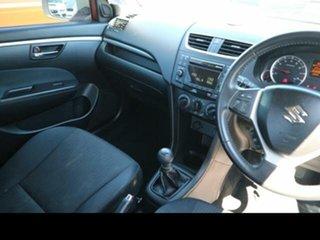 2013 Suzuki Swift FZ GL White 5 Speed Manual Hatchback