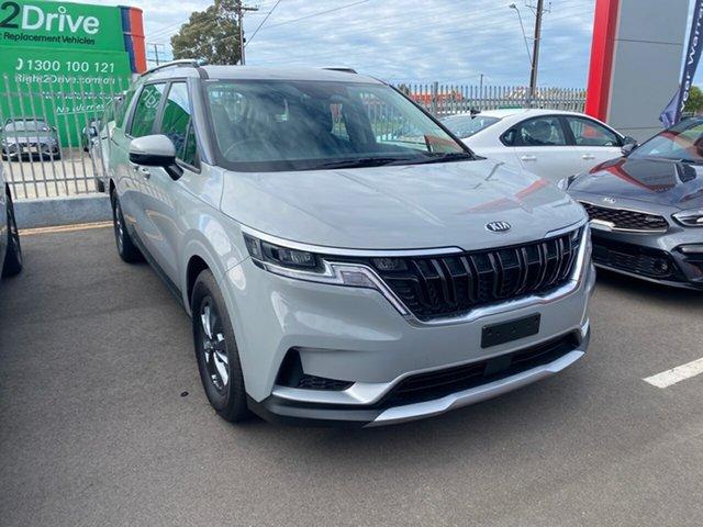 New Kia Carnival KA4 MY21 S Cheltenham, 2021 Kia Carnival KA4 MY21 S Ceramic Silver 8 Speed Sports Automatic Wagon
