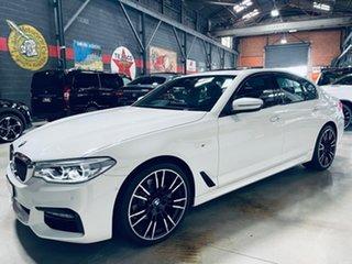 2017 BMW 5 Series G30 520d Steptronic M Sport White 8 Speed Sports Automatic Sedan