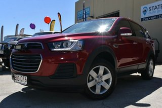 2016 Holden Captiva CG MY16 5 LS (FWD) Red 6 Speed Automatic Wagon.
