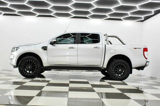 2017 Ford Ranger PX MkII MY18 XLT 3.2 Hi-Rider (4x2) Silver 6 Speed Automatic Crew Cab Pickup
