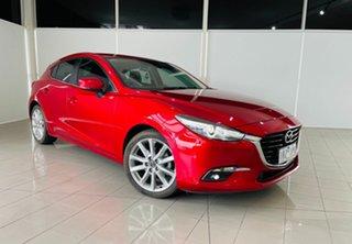 2017 Mazda 3 BN5438 SP25 SKYACTIV-Drive GT Red 6 Speed Sports Automatic Hatchback.