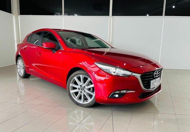 Used Mazda 3 BN5438 SP25 SKYACTIV-Drive GT Deer Park, 2017 Mazda 3 BN5438 SP25 SKYACTIV-Drive GT Red 6 Speed Sports Automatic Hatchback
