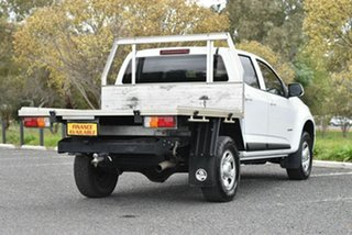 2017 Holden Colorado RG MY18 LS Crew Cab 4x2 White 6 Speed Sports Automatic Cab Chassis