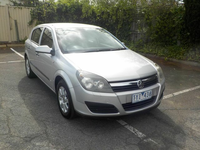 Used Holden Astra AH MY06 CD Newtown, 2006 Holden Astra AH MY06 CD Silver 4 Speed Automatic Hatchback