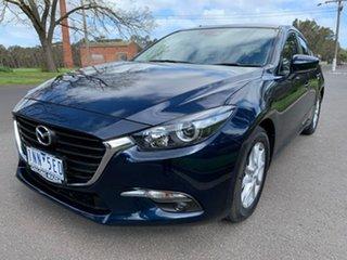 2018 Mazda 3 BN Series Maxx Sport Blue Sports Automatic Hatchback.