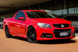 2014 Holden Ute VF MY14 SS V Ute Red 6 Speed Sports Automatic Utility.