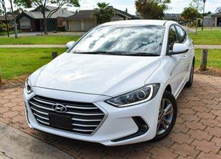 2016 Hyundai Elantra AD MY17 Active Whiwte/cloth 6 Speed Sports Automatic Sedan.