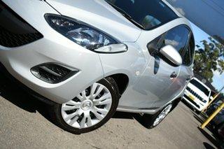 2010 Mazda 2 DE Neo Silver 4 Speed Automatic Hatchback.