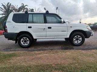 1997 Toyota Landcruiser Prado VZJ95R RV6 White 5 Speed Manual Wagon