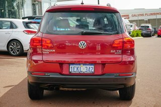 2013 Volkswagen Tiguan 5N MY14 132TSI DSG 4MOTION Pacific Red 7 Speed Sports Automatic Dual Clutch