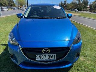 2018 Mazda 2 DL2SAA Neo SKYACTIV-Drive Blue 6 Speed Sports Automatic Sedan.