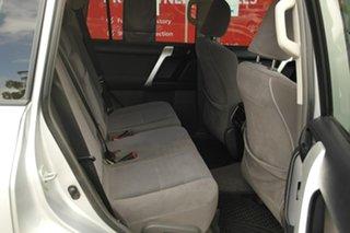 2011 Toyota Landcruiser Prado KDJ150R GXL Silver 5 Speed Sports Automatic Wagon