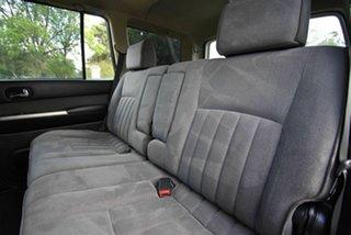 2011 Nissan Patrol GU 7 MY10 ST White 4 Speed Automatic Wagon