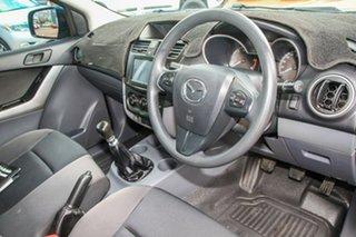 2015 Mazda BT-50 UR0YD1 XT 4x2 Blue 6 Speed Manual Cab Chassis