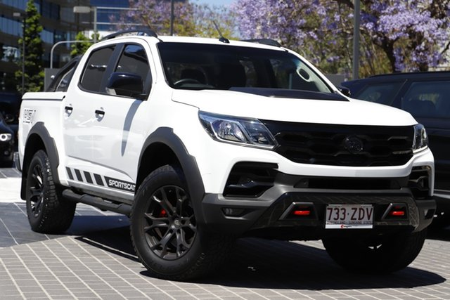Used Holden Special Vehicles Colorado RG MY19 SportsCat Pickup Crew Cab Newstead, 2019 Holden Special Vehicles Colorado RG MY19 SportsCat Pickup Crew Cab White 6 Speed