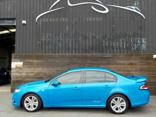 2010 Ford Falcon FG XR6 Blue 5 Speed Sports Automatic Sedan