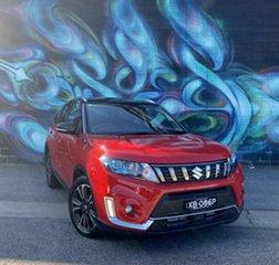 2021 Suzuki Vitara LY Series II Turbo 2WD Bright Red & Cosmic Black 6 Speed Sports Automatic Wagon.