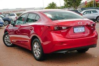 2016 Mazda 3 BN5278 Neo SKYACTIV-Drive Red 6 Speed Sports Automatic Sedan.