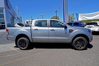 2021 Ford Ranger PX MkIII 2021.25MY XLS Silver 6 Speed Sports Automatic Double Cab Pick Up.