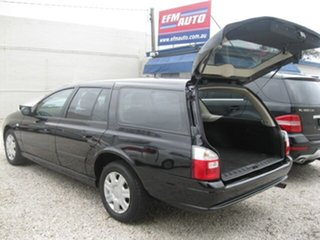 2010 Ford Falcon BF Mk III XT Black 4 Speed Sports Automatic Wagon.