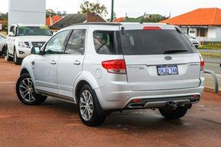 2014 Ford Territory SZ Titanium Seq Sport Shift AWD Silver 6 Speed Sports Automatic Wagon.
