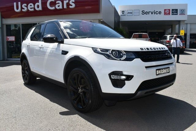 Used Land Rover Discovery Sport L550 19MY HSE Gosford, 2018 Land Rover Discovery Sport L550 19MY HSE Fuji White 9 Speed Sports Automatic Wagon
