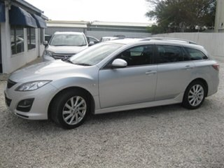2010 Mazda 6 GH1052 MY10 Touring Silver 5 Speed Sports Automatic Wagon