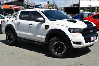 2015 Ford Ranger PX MkII XLS 3.2 (4x4) White 6 Speed Manual Double Cab Pick Up.