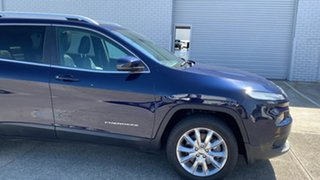 2014 Jeep Cherokee KL Limited Blue 9 Speed Sports Automatic Wagon