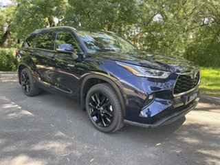 2021 Toyota Kluger Axuh78R Grande eFour Saturn Blue 6 Speed Constant Variable Wagon Hybrid.