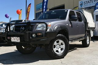 2011 Mazda BT-50 09 Upgrade Boss B3000 DX (4x4) Grey 5 Speed Manual Dual Cab Chassis.