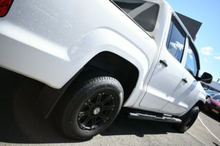 2015 Volkswagen Amarok 2H MY14 TDI340 (4x2) White 6 Speed Manual Dual Cab Chassis
