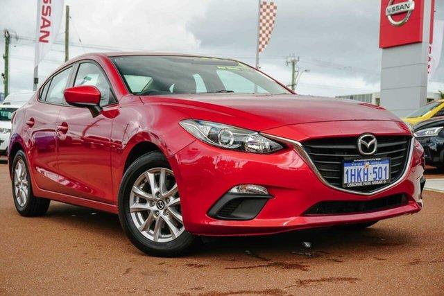 Used Mazda 3 BN5278 Neo SKYACTIV-Drive Osborne Park, 2016 Mazda 3 BN5278 Neo SKYACTIV-Drive Red 6 Speed Sports Automatic Sedan