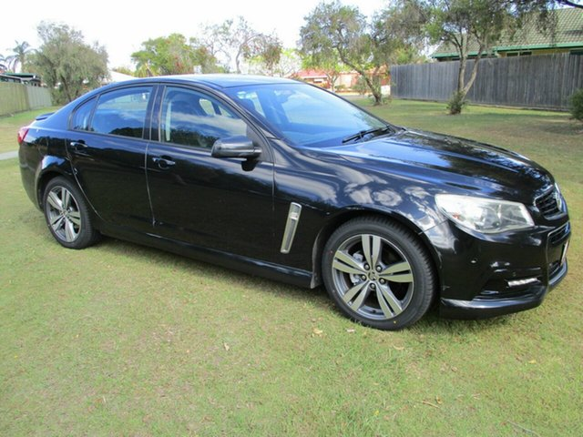 Used Holden Commodore VF MY14 SV6 Kippa-Ring, 2013 Holden Commodore VF MY14 SV6 Black 6 Speed Sports Automatic Sedan