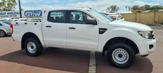 2015 Ford Ranger PX XL Hi-Rider White 6 Speed Sports Automatic Utility