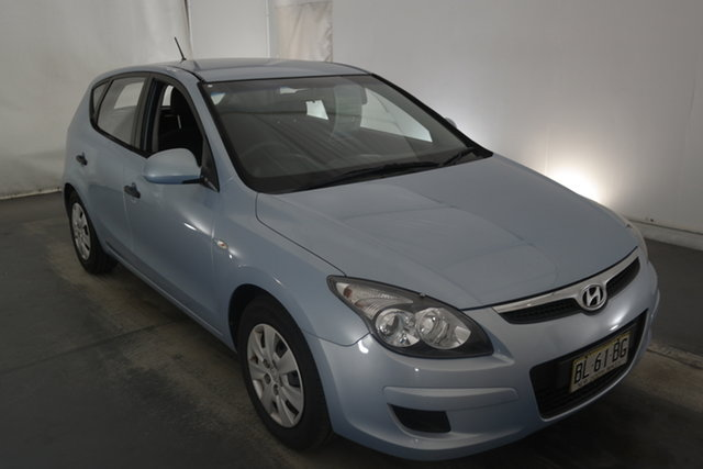 Used Hyundai i30 FD MY11 SX Maryville, 2011 Hyundai i30 FD MY11 SX Blue 5 Speed Manual Hatchback