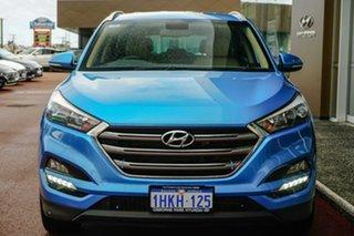 2016 Hyundai Tucson TLE Elite AWD Blue 6 Speed Sports Automatic Wagon