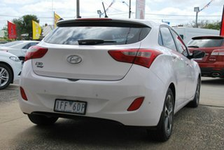 2015 Hyundai i30 GD3 Series 2 Active X White 6 Speed Automatic Hatchback