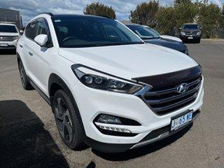 2017 Hyundai Tucson TLE2 MY18 Highlander AWD Polar White 6 Speed Sports Automatic Wagon.