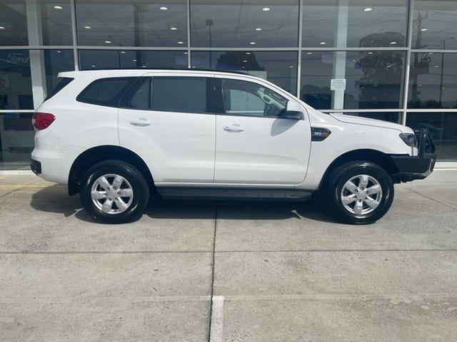 Used Ford Everest UA Ambiente Ferntree Gully, 2017 Ford Everest UA Ambiente White 6 Speed Sports Automatic SUV