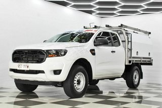 2018 Ford Ranger PX MkIII MY19 XL 2.2 Hi-Rider (4x2) White 6 Speed Automatic Super Cab Chassis
