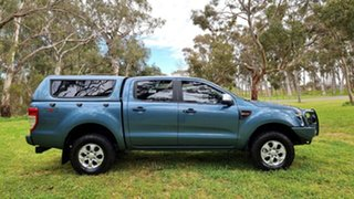 2014 Ford Ranger PX XLS Double Cab Gunmetal Blue 6 Speed Sports Automatic Utility