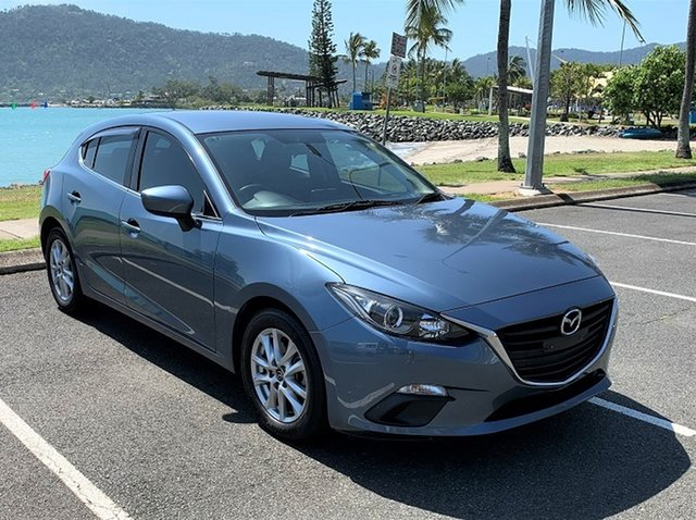 Used Mazda 3 MY14 Maxx Proserpine, 2014 Mazda 3 MY14 Maxx Blue 6 Speed Manual Hatchback
