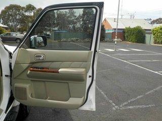 2008 Nissan Patrol GU VI TI (4x4) White 4 Speed Automatic Wagon