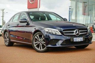 2019 Mercedes-Benz C-Class W205 800MY C200 9G-Tronic Black 9 Speed Sports Automatic Sedan.