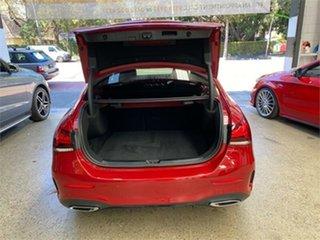 2021 Mercedes-Benz A-Class V177 A180 Red Sports Automatic Dual Clutch Sedan